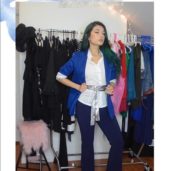 LMS Club Jackets & Blazers - Electric Blue Women's Blazer Jacket